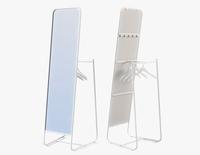 Floor Mirror Ikea Knapper 3D Model