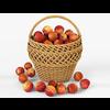 19 16 06 976 001 wicker basket 01 apples  4