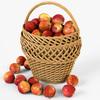 19 16 07 814 002 wicker basket 01 apples  4