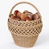 19 16 44 639 002 wicker basket 01 mushrooms  4