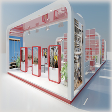 Exhibition Stand 031 3D Model