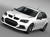 HSV Clubsport R8 Gen F2 2016 3D Model