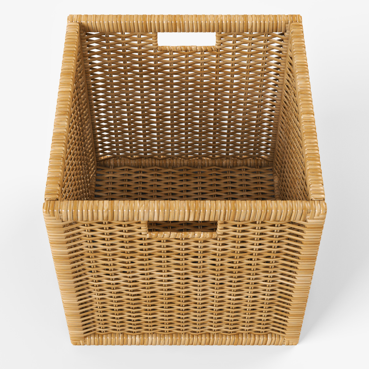 rattan basket ikea branas 3d model. Black Bedroom Furniture Sets. Home Design Ideas