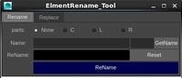 Free ElementRename for Maya 1.0.1 (maya script)