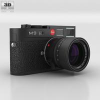 Leica M9 Black 3D Model
