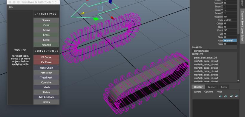 Curve Tools for Maya