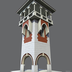 Architecture Tower 3D Model
