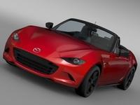 Mazda Roadster (ND) 2016 3D Model