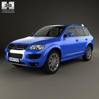 Volkswagen Touareg R50 2007 3D Model