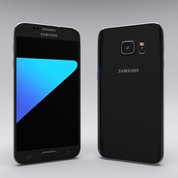 Samsung Galaxy S7 Black 3D Model
