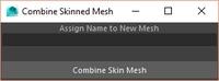 Free Combine Skinned Meshes Tool for Maya 1.1.0 (maya script)