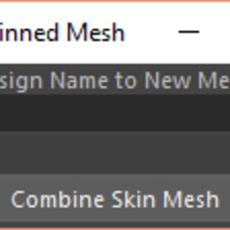Combine Skinned Meshes Tool for Maya 1.1.0 (maya script)