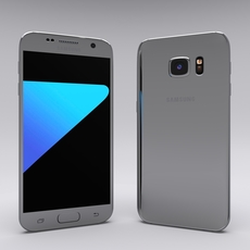 Samsung Galaxy S7 Gray 3D Model