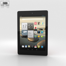 Acer Iconia Tab A1-810 Red 3D Model