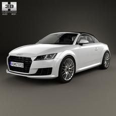 Audi TT (8S) roadster 2014 3D Model
