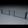 19 55 58 714 elegant fencing system low poly 4 4