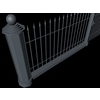 19 55 59 527 elegant fencing system low poly 5 4