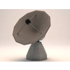 19 56 19 355 observatory satelitte dish low poly 1 4