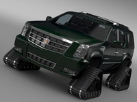Cadillac Escalade Crawler 3D Model