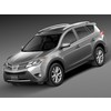 HQ LowPoly Toyota RAV4 2015 3D Model