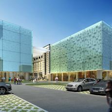 commercial Plaza 056 3D Model