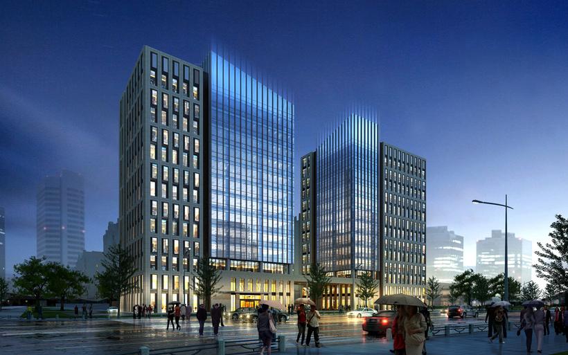 commercial Plaza 061 3D Model