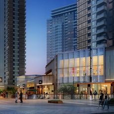 commercial Plaza 066 3D Model