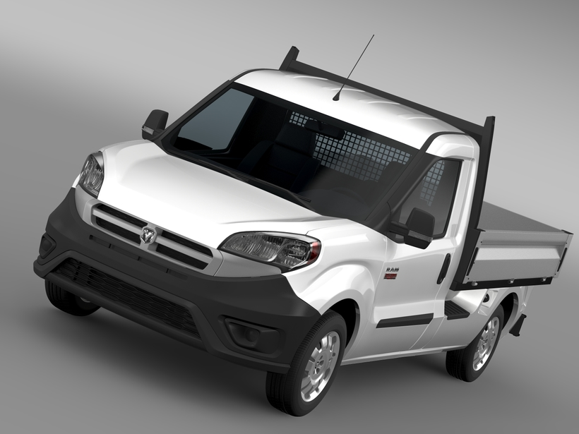 Ram ProMaster City Tipper 2016 3D Model