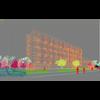 20 11 00 418 exterior office building scene 001 4 4