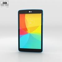 LG G Pad 8.0 Luminous Blue 3D Model