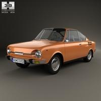 Skoda 110 R 1970 3D Model