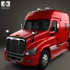 20 12 40 285 freightliner cascadia xt tractor truck 3axle 2007 600 0006 4