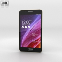 Asus Fonepad 7 (FE375CG) Black 3D Model