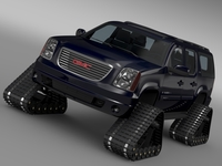 GMC Yukon XL Crawler 3D Model