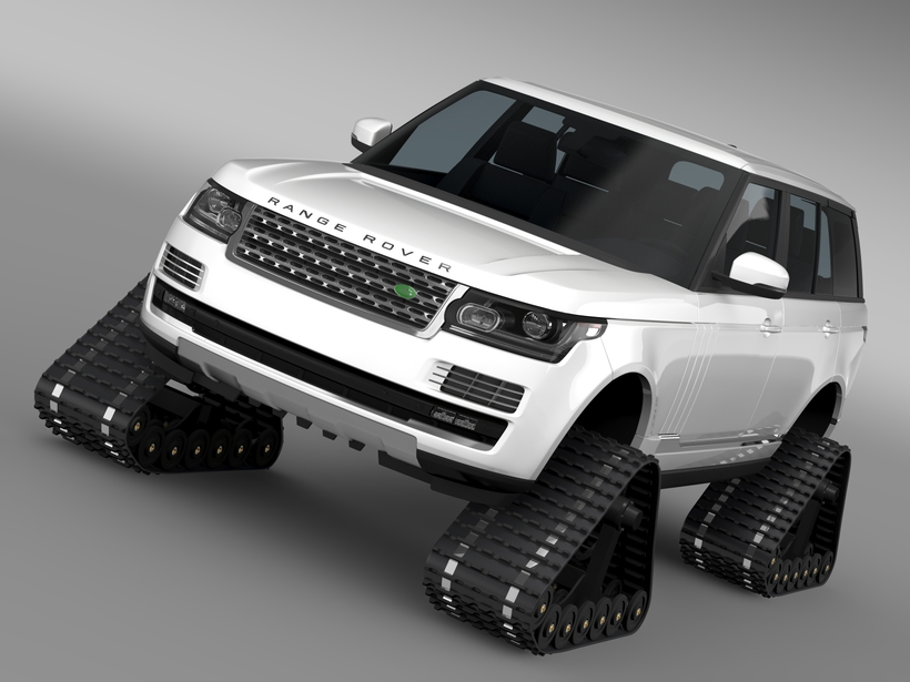 Range Rover Supercharged L405 Crawler 2016 3D Model