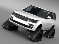 Range Rover Supercharged L405 Crawler 2016 3D Model