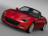 Mazda MX 5 (ND) 2016 3D Model