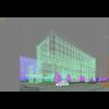 20 37 27 554 exterior office building scene 025 3 4