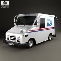 Grumman Long Life Vehicle 1987 3D Model