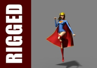 Supergirl (Rig) for Maya 1.0.0