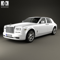 Rolls-Royce Phantom sedan 2012 3D Model