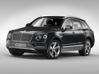 Bentley Bentayga (2017) 3D Model