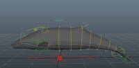 Whale Character Rig for Maya 1.0.0