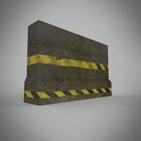 Roadblock 3D Model