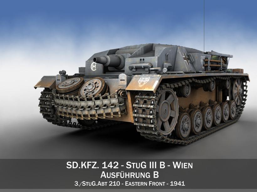 StuG III - Ausf.B - Wien 3D Model