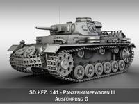 Panzer III - PzKpfw III - Ausf.G 3D Model