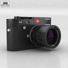Leica M (Type 240) Black 3D Model