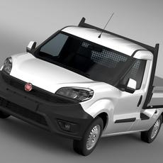 Fiat Doblo Work Up (263) 2016 3D Model