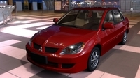 Mitsubishi Lancer for Maya 2.1.6