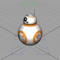 STAR WARS: BB-8 Rig for Maya 2.0.0